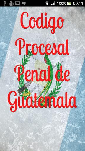 Procesal Penal Guatemala