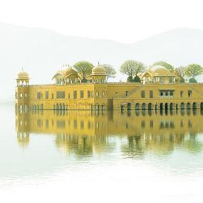 Dream World by Ankur Chaturvedi - Buildings & Architecture Statues & Monuments ( jaipur, jal mahal, palaces )