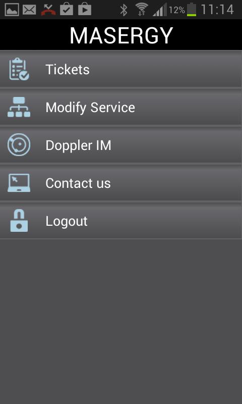 Masergy ISC - screenshot