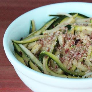 Zucchini Noodles Aglio et Olio