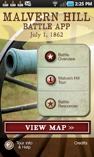 Malvern Hill Battle App- screenshot thumbnail