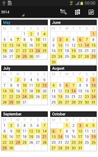 Business Calendar Pro 5