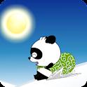熊猫滑雪 动态壁纸 icon