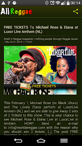 All Reggae Radio screenshot 5