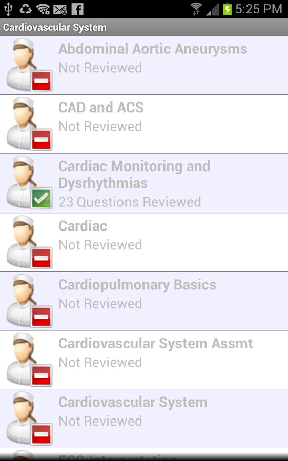 Med Surg II Nursing in a Flash - screenshot