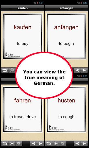 500 Most Useful German Verb