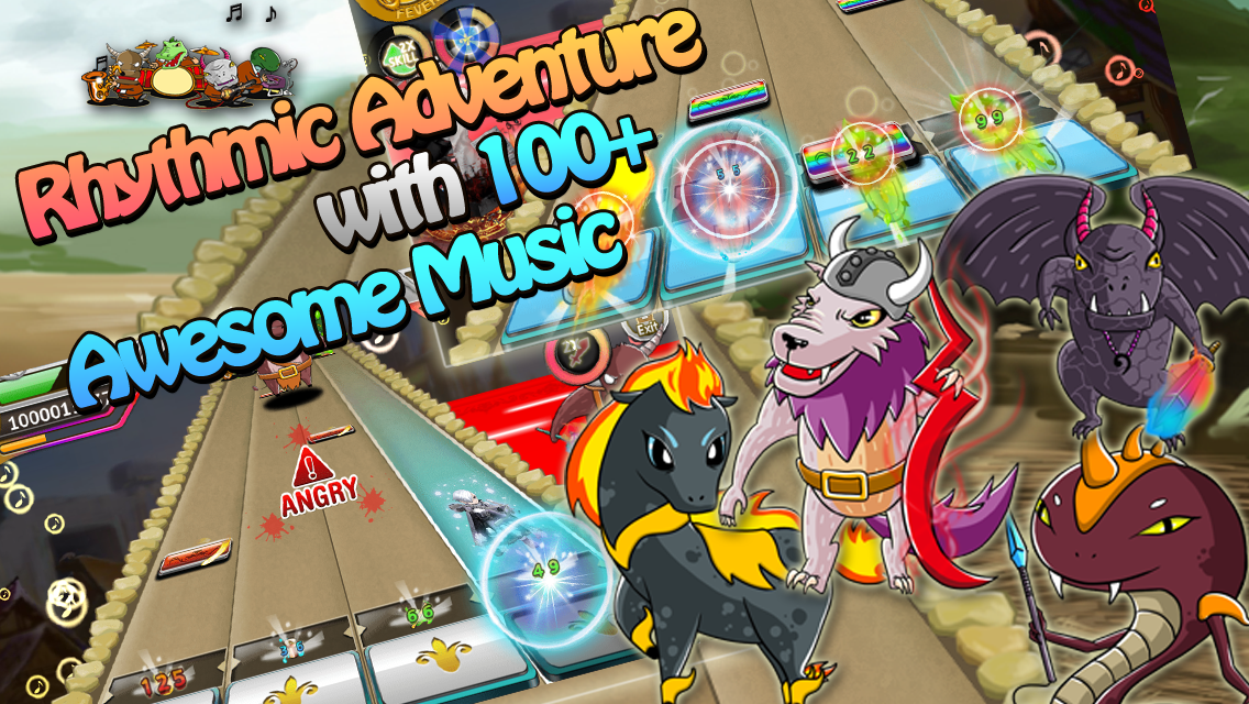 Song of Hero : Music RPG- screenshot