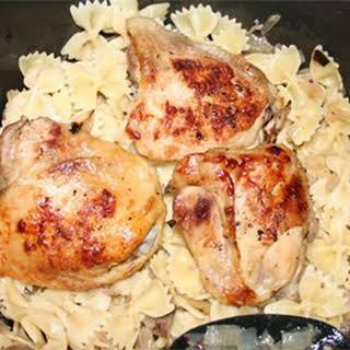 Portobello Lemon Chicken.