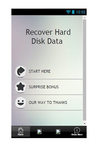 Recover Hard Disk Data Guide