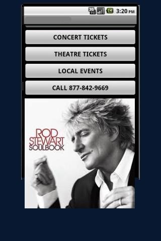 Rod Stewart Tickets- screenshot