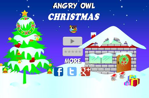 Angry Owl Christmas