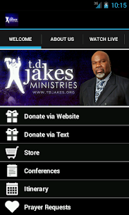 Bishop T.D. Jakes Ministries - screenshot thumbnail