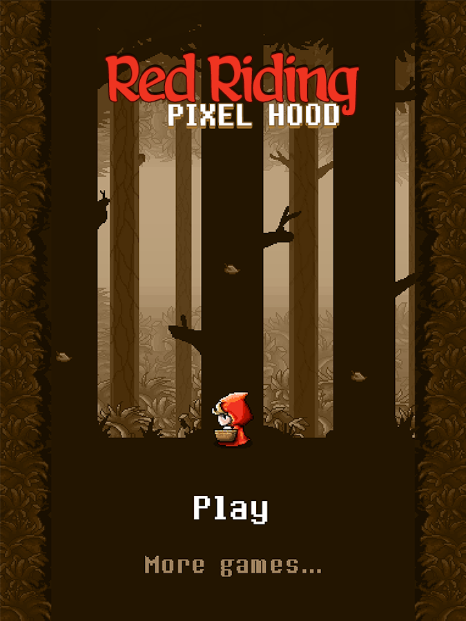 Red Riding Pixel Hood- screenshot