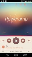 Screenshot of Poweramp skin 2in1 Flat Autumn