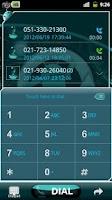 Screenshot of GOContacts Theme Cyanogen