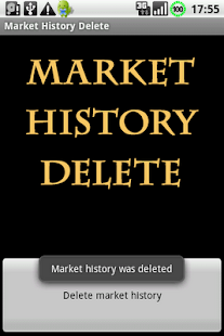 Market Search History Delete - screenshot thumbnail