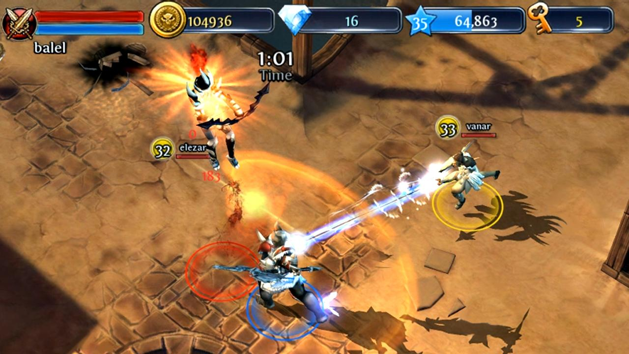 Dungeon Hunter 2 HD [v1.0.0 / 1.0.7] [ENG] [Игры для Android]