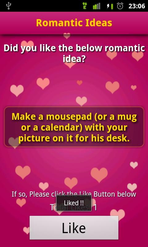 Valentines Day: Romantic Ideas - screenshot