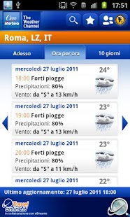 Class Meteo - Weather Channel - screenshot thumbnail