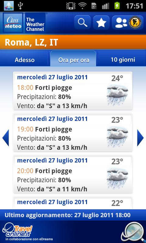 Class Meteo - Weather Channel - screenshot