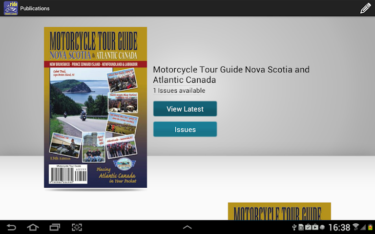 Screenshots for Ride Atlantic Canada