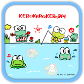 Kero Keroppi Fishing Theme
