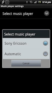 Music Player Smart Extension - screenshot thumbnail