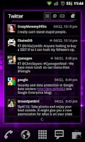 Screenshot of Purple Punch LPP / APW Theme