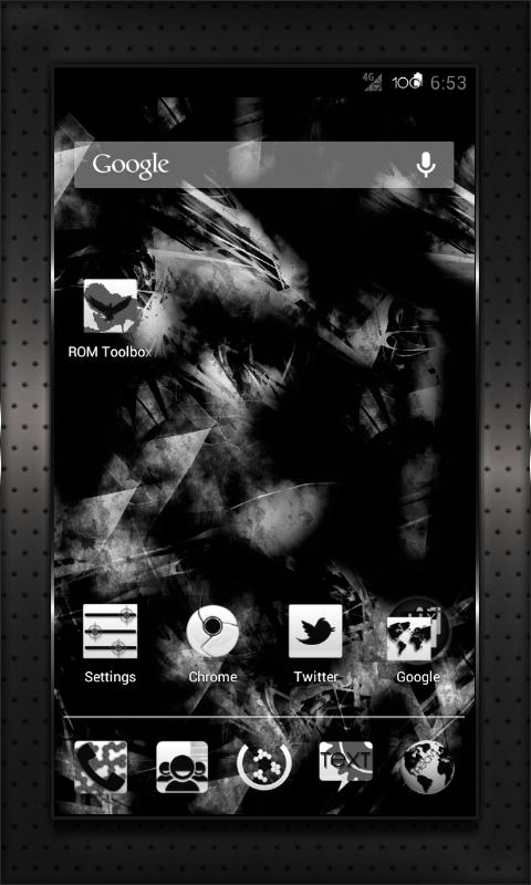 BLACK HEAVY cm10 cm9 aokp - screenshot