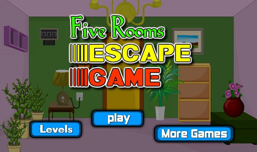 Five Rooms Escape Game 1.0.0 screenshots 1