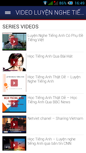 Video Luyen Nghe Tieng Anh