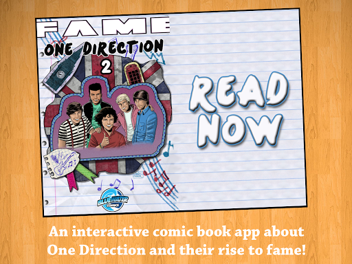 Fame: One Direction Comic Book