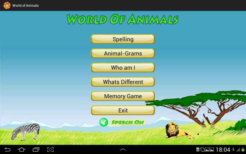 World of Animals- screenshot