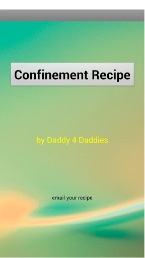 Confinement Food Recipe