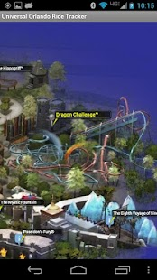 Universal Orlando Ride Tracker - screenshot thumbnail