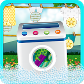 Laundry Machine Kids Games