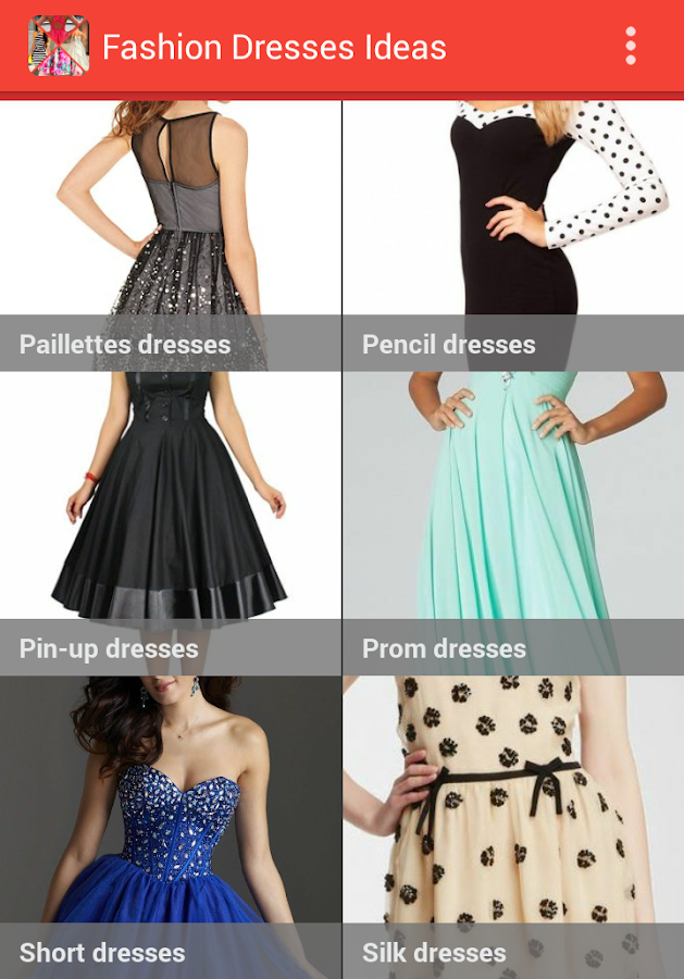 fashion dresses ideas screenshot - Clothing Design Ideas