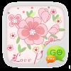 GO SMS Pro Love Petal Theme EX