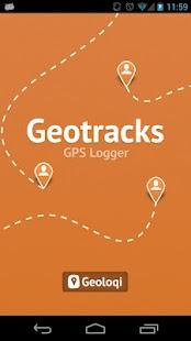 Geotracks - screenshot thumbnail
