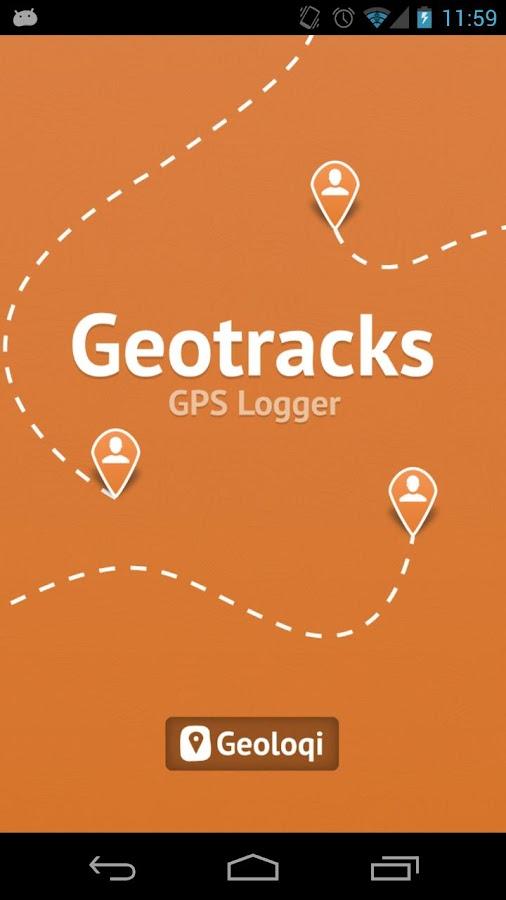 Geotracks - screenshot