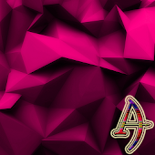 eXperiance Theme Pink Polygons