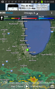 CBS Chicago Weather- screenshot thumbnail
