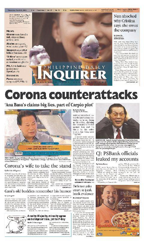 Philippines Newspaper - screenshot