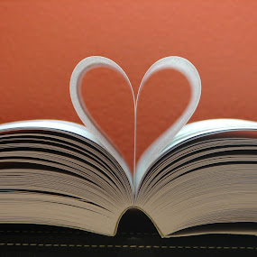 Heart Book by Judy Dean - Artistic Objects Education Objects ( heart, pages, book,  )