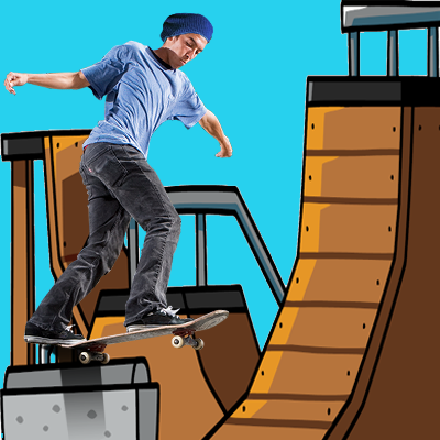 Skateboarding : Kids Game