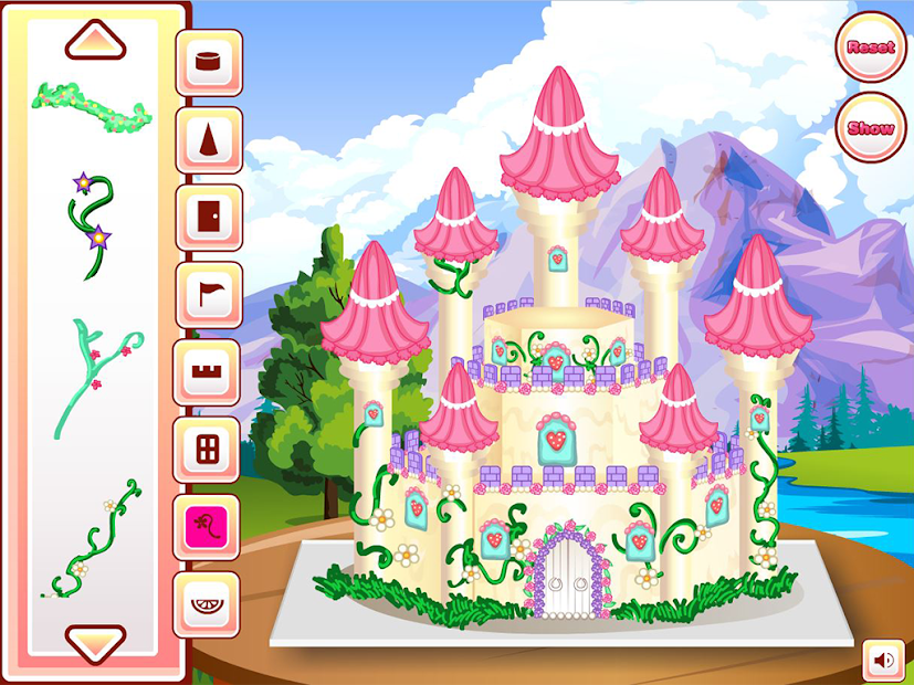 Princess Castle Cake Cooking Android App Screenshot