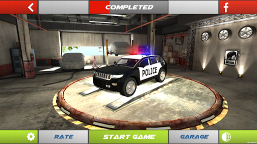 Car Parking 3D - Police Cars