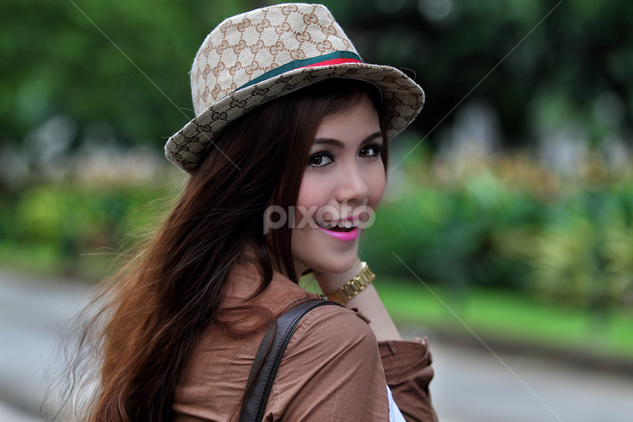 pink lips by Poetoet Adi - People Portraits of Women