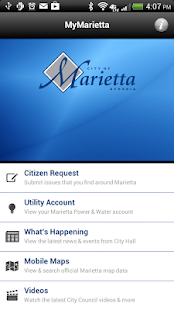 MyMarietta v2 - screenshot thumbnail
