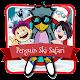 Pinguin Ski Weihnachtsspiele